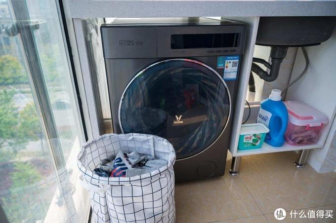 洗完衣服直接穿,洗烘一体机的极致体验,云米neo2s上手分享