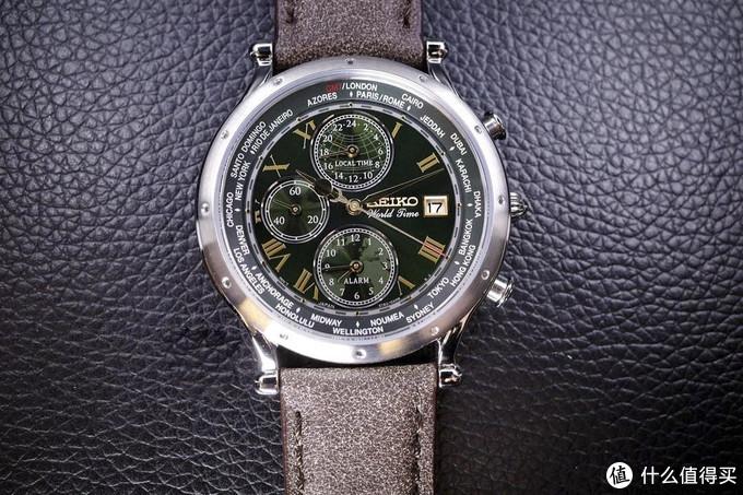 【手表】绿盘精工航海家系列30周年限量款:简单开箱上手
