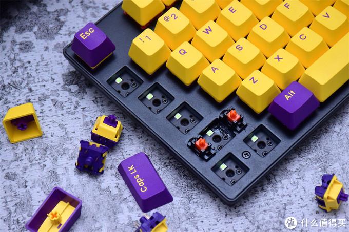 要玩就玩真的,达尔优A87紫金轴版机械键盘分享