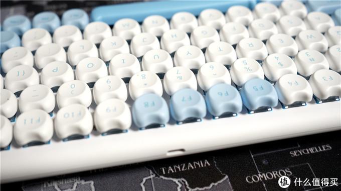 IQUNIX M80键盘——超萌的蓝牙+有线双模键盘分享