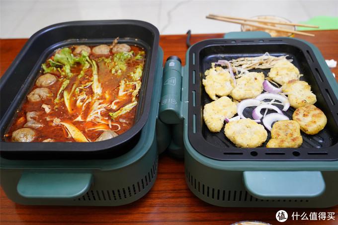 涮煮蒸炒煎烤一机搞定,美的双子炉体验:小白也能成大厨