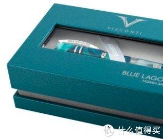 新品资讯:虽迟但到,维斯康帝智人系列蓝色泻湖限量钢笔来了~
