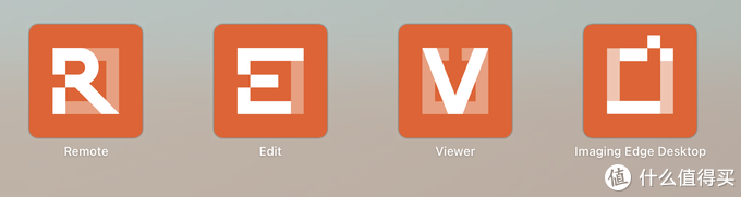 △SONY的四个分工不同的软件,重点是前三个。