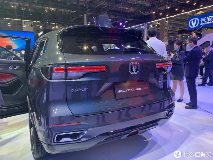 """缩小版的""""UNI-K""""!上海车展实拍体验新款长安CS55 PLUS"""