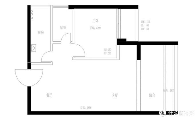 65㎡一房改三房两卫,收纳堪比200㎡,小阳台不输海景房!