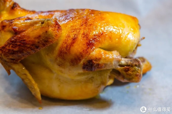 烤鸡这样做,一只鸡,两种味