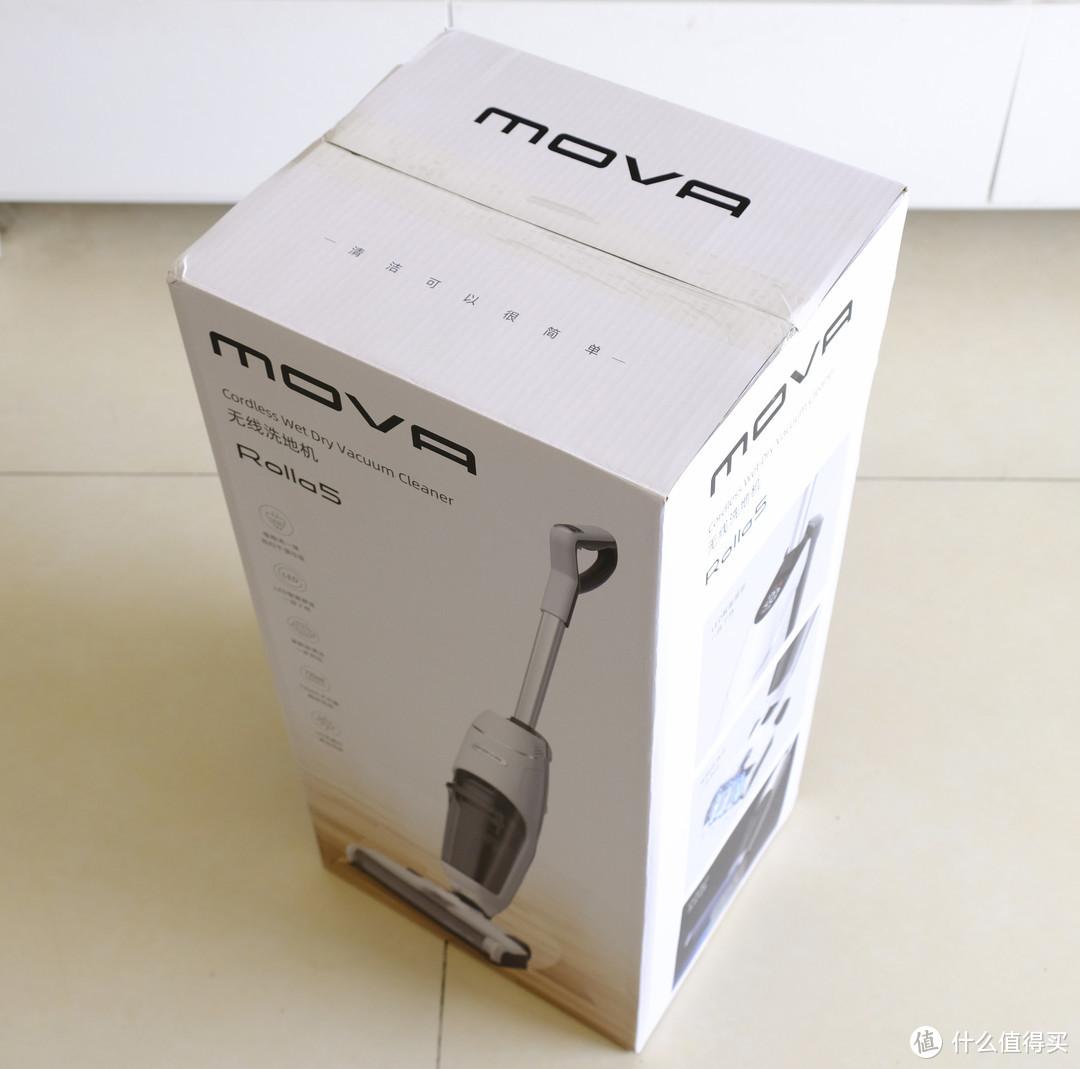 MOVA无线自清洁洗地机Rolla5:吸尘/拖地/洗地/紫外消毒一次完成,家居清洁小能手