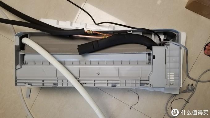 米家空调 巨省电 睡眠款1.5匹KFR-35W/S1A1开箱+拆机