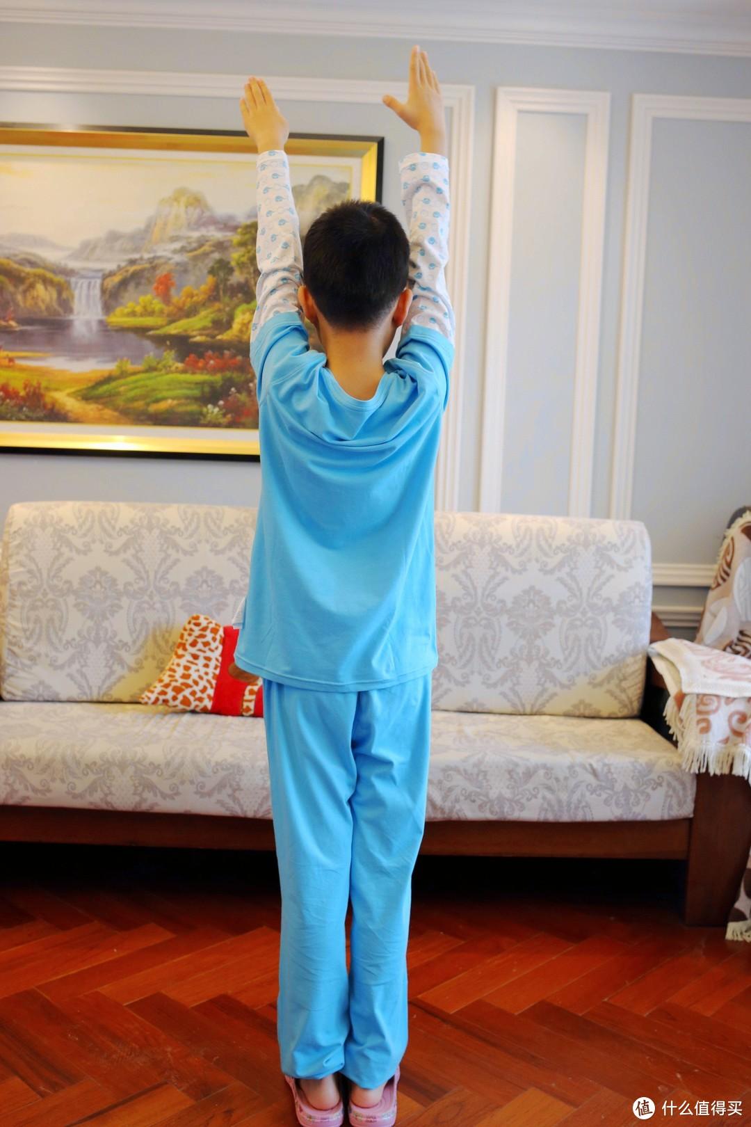 吸湿排汗,柔软舒适,小蓝象儿童排汗内衣全体验