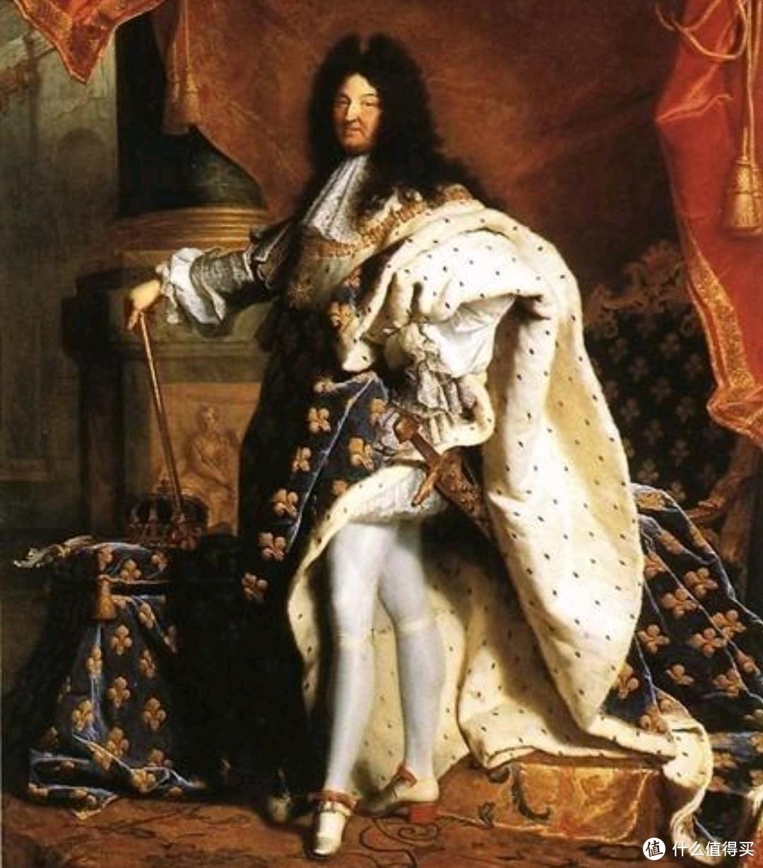 """法国国王路易十四本人就是""""丝袜社交""""的忠实拥趸。"""