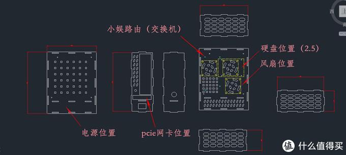 DIY亚克力透明ITX软路由小机箱
