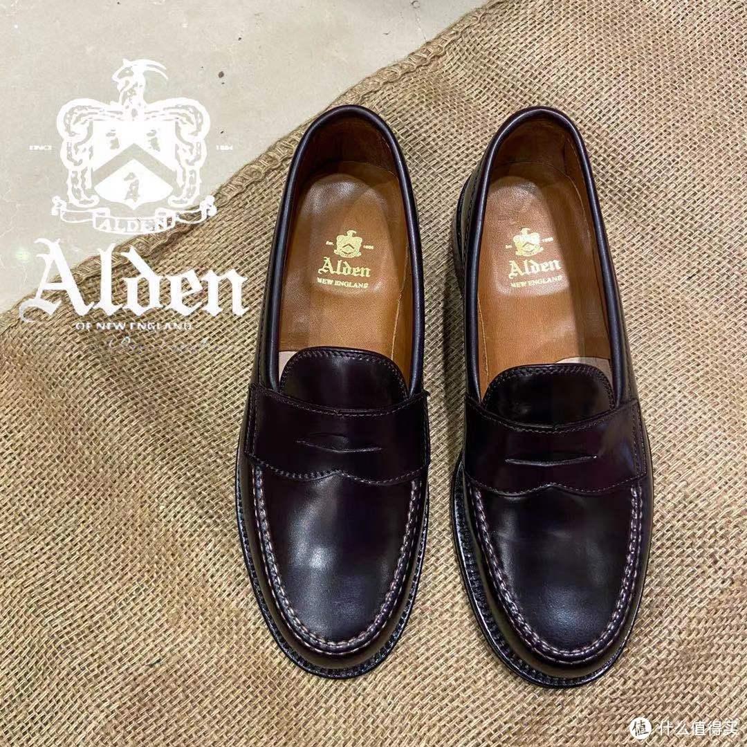 alden马臀penny loafer