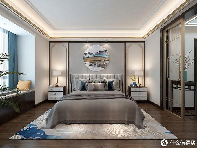 """她家的新中式风装修""""清新脱俗"""",屋内一尘不染,彰显出中式文化"""