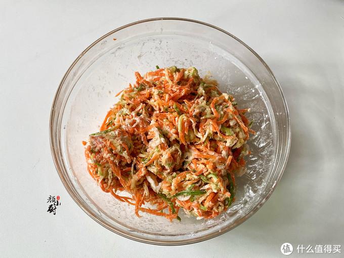 这食材最近吃得多,3元做一盘,搓成小丸子蒸一锅,蘸料吃真香