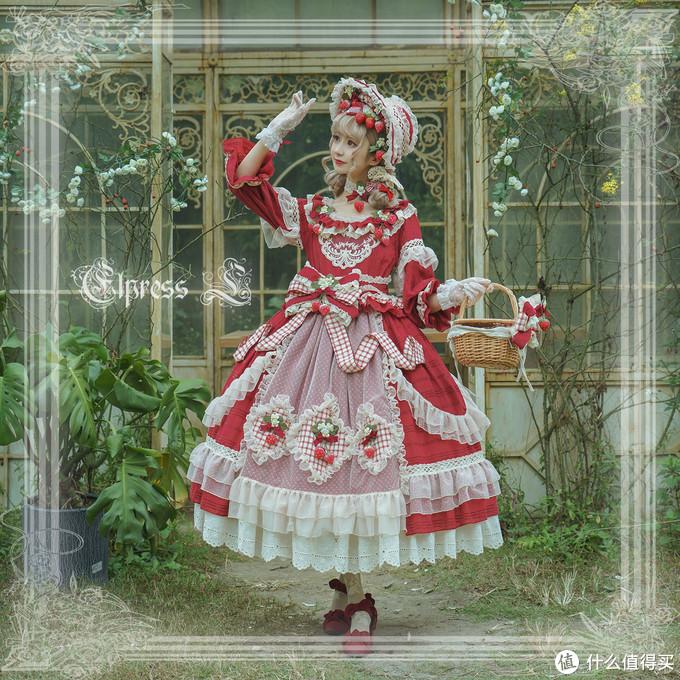 超华丽又重工的Lolita小裙子居然只要XXX元?!手慢无