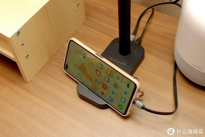 """慧作无线充多功能集成台灯:一盏可以""""玩""""的无线充电台灯"""