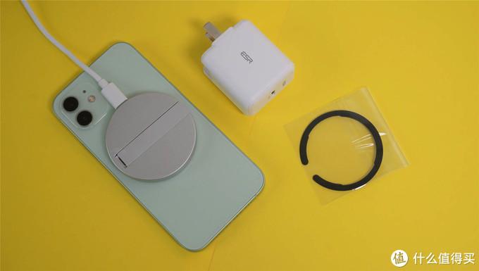硬刚苹果!ESR雅置磁吸无线充支架:充电娱乐两不误