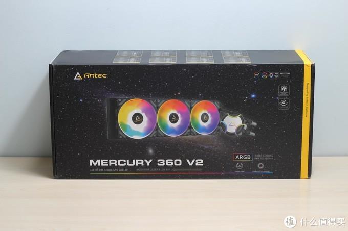 安钛克水星Mercury360V2水冷散热器:让散热成为过去式