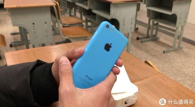 【收藏】136元箱说全iphone5c蓝屏老化翻车,皇帝版a1429
