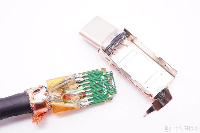拆解报告:讯光电子USB4数据线