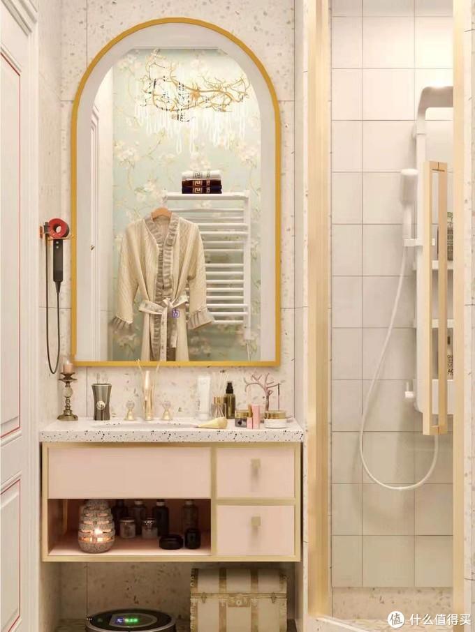 花洒换新洗澡像spa✨️复古浴室好物+1