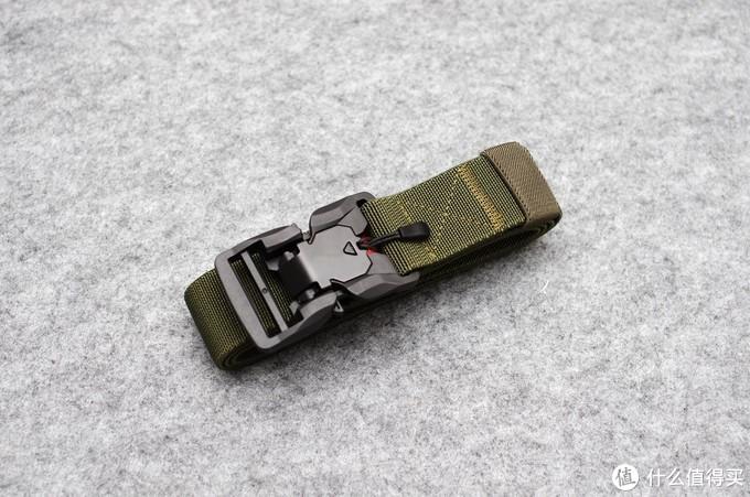 折扣价入手的户外磁扣快速开闭尼龙腰带