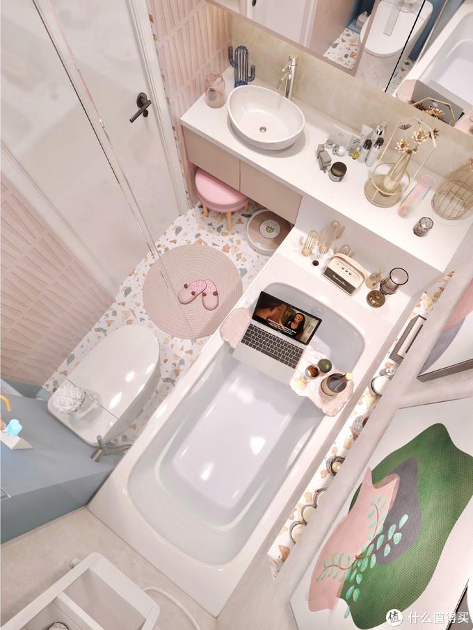 小户型精致浴室设计,带尺寸图