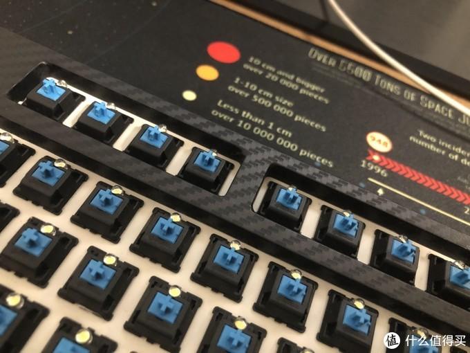 如何翻新一把垃圾机械键盘——酷冷极光87键盘修复及改造