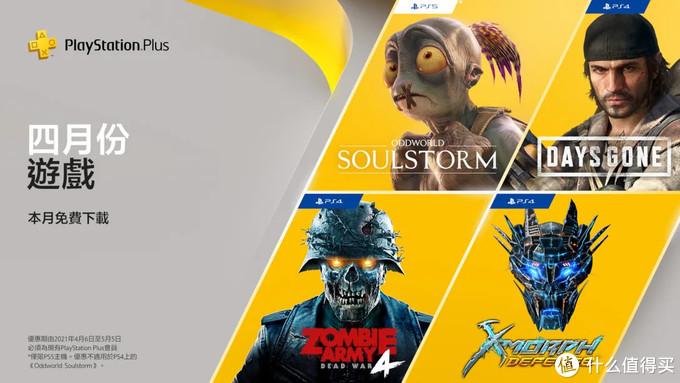 PlayStation Plus 五月会员会免游戏及PS Plus 12个月会籍8折优惠。