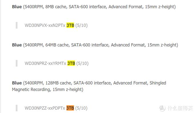 2021年初8TB及以下小容量机械硬盘全面选购指南