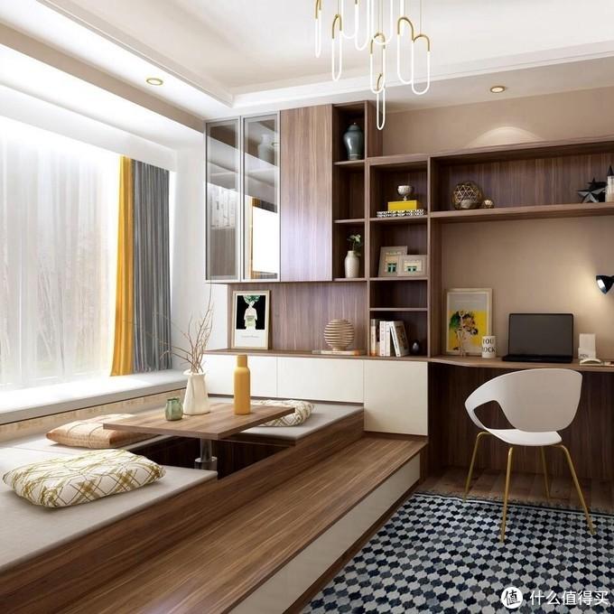 一线板材家湘美品牌:卧室榻榻米到底实用吗