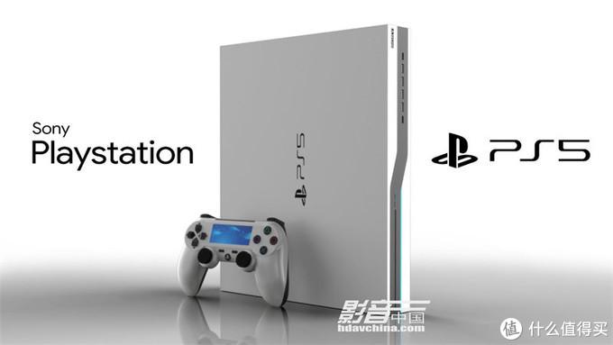 第一代的PlaySation游戏主机(上图),1994年推出,采用CD-ROM光盘存储,最新一代PlaySation 5游戏主机(下图),预计在今年4月到6月在中国市场发售