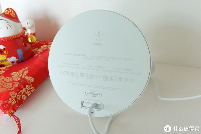 Apple全家桶的最爱!贝尔金Magsafe无线充电器
