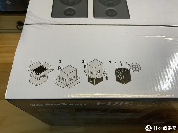 不到700玩监听:Presonus 普瑞声纳 Eris E3.5监听音箱开箱及简评