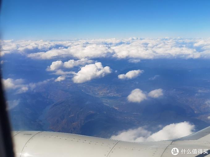 云南山区上空