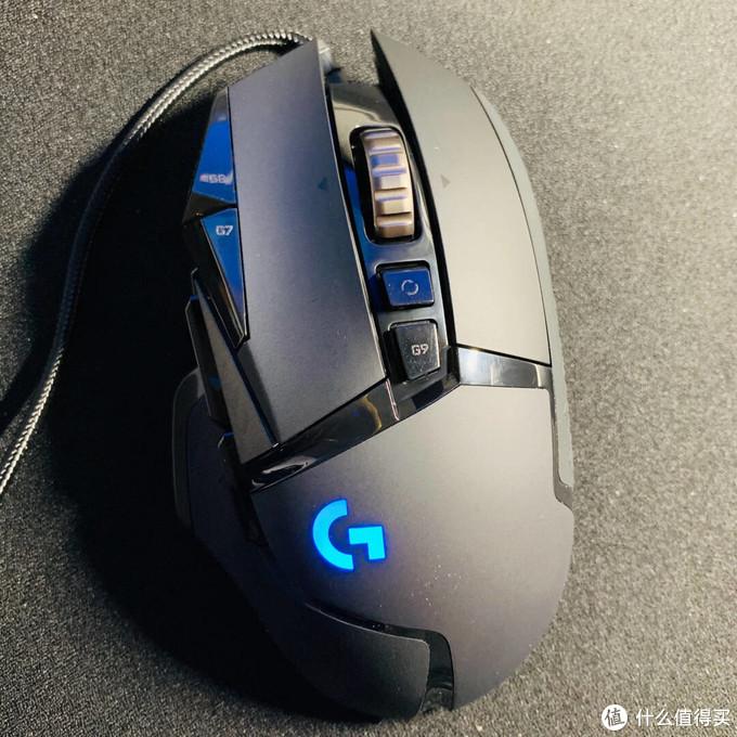 """""""掌控""""游戏,罗技G502 HERO主宰者游戏鼠标评测"""