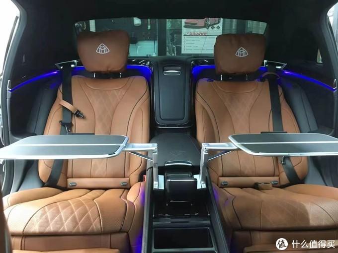20款迈巴赫S450升级商务舱行政座椅,尽释豪华尊贵待客之道