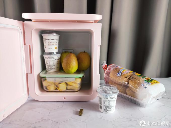 倍思6L小冰箱体验,小巧实用,学生宿舍租房办公卧室小帮手!