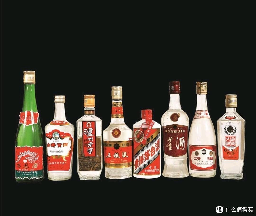 """1963年,中国第二届评酒会评出了八大国家名酒,即古井贡、茅台、董酒、汾酒、五粮液、西凤、泸州老窖以及全兴大曲,惯称""""老八大"""""""