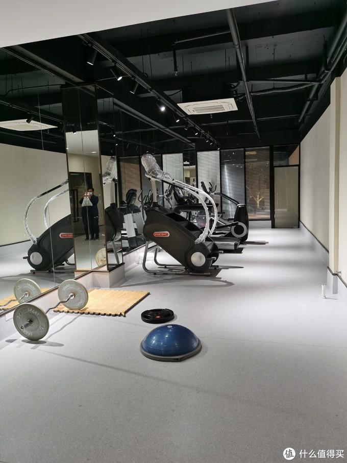 看包装这个登楼健身机应该是刚买的,还没开始使用,其他设施还算马马虎虎够用