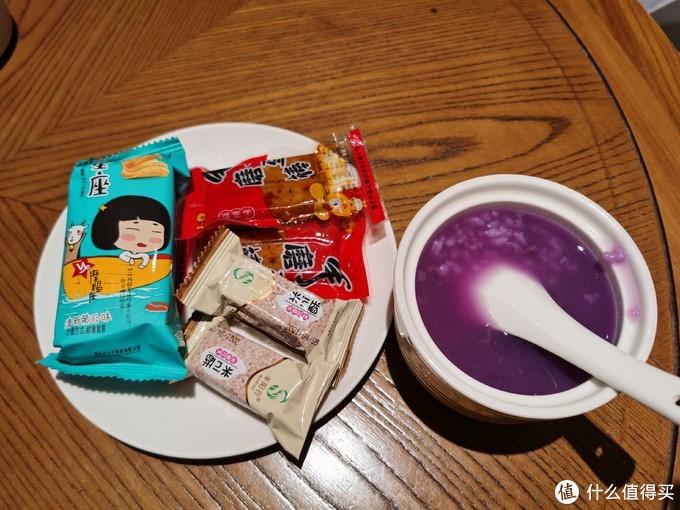 特别推荐这个紫薯粥,香薷可口,非常好喝!