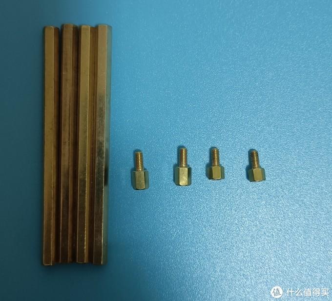 双通铜柱型号m3*75mm,单通铜柱m3*6+6mm,