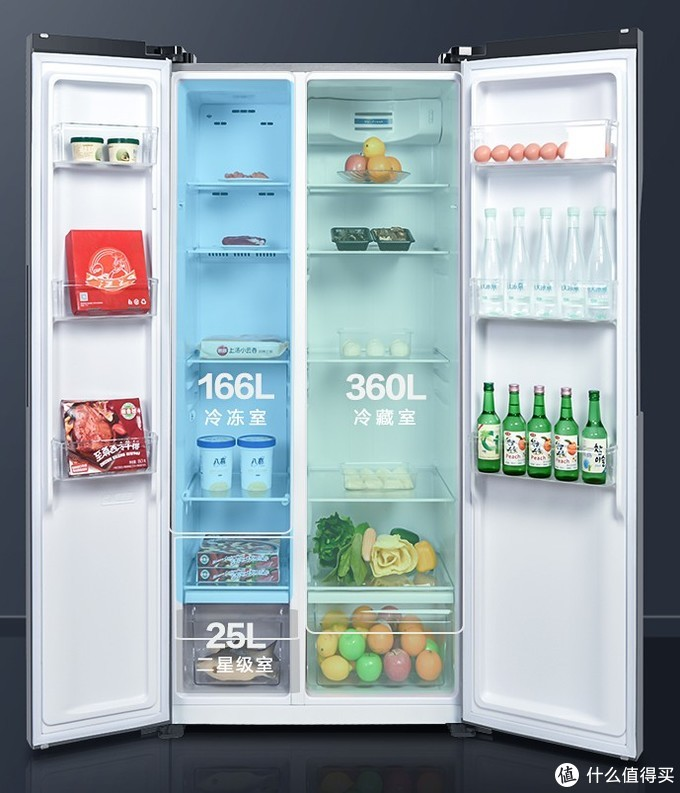 十大品牌500L~600L容量冰箱选购推荐,优惠活动不容错过!