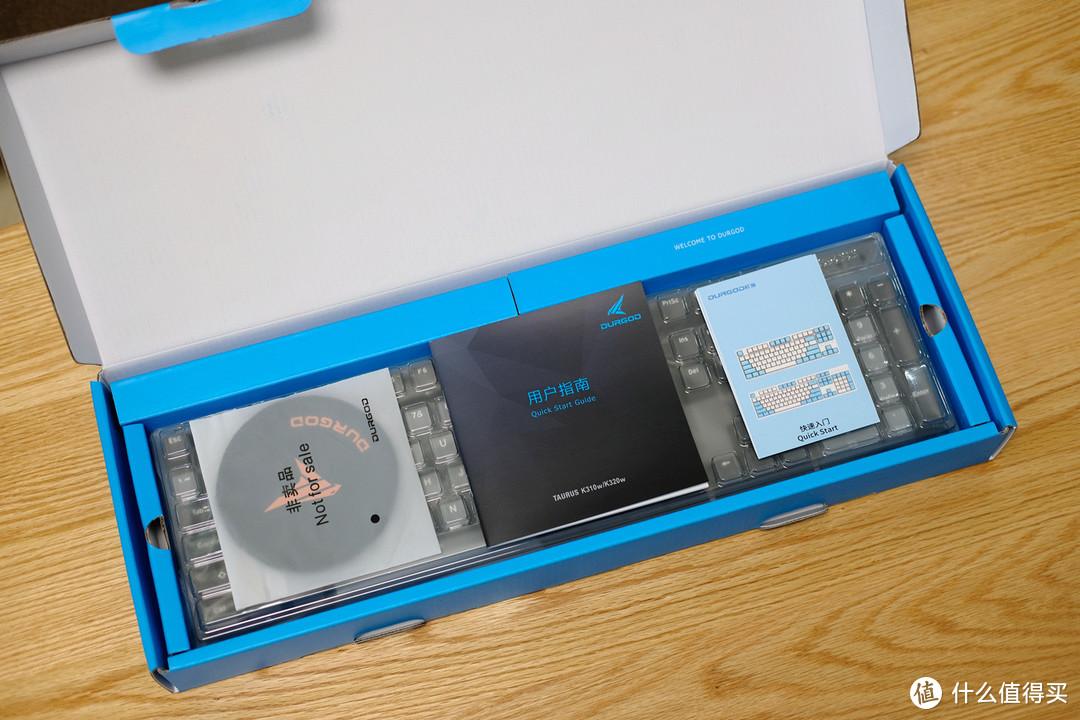 终于达成我的无线化桌面,杜伽K310W三模无线机械键盘 体验