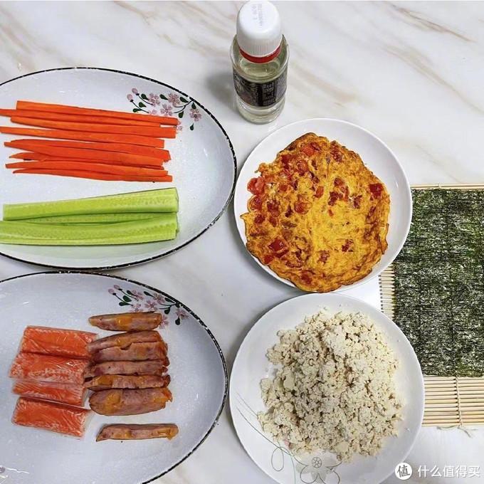 关晓彤无米寿司,神秘低卡食材代替米饭,营养美味,低脂吃不胖