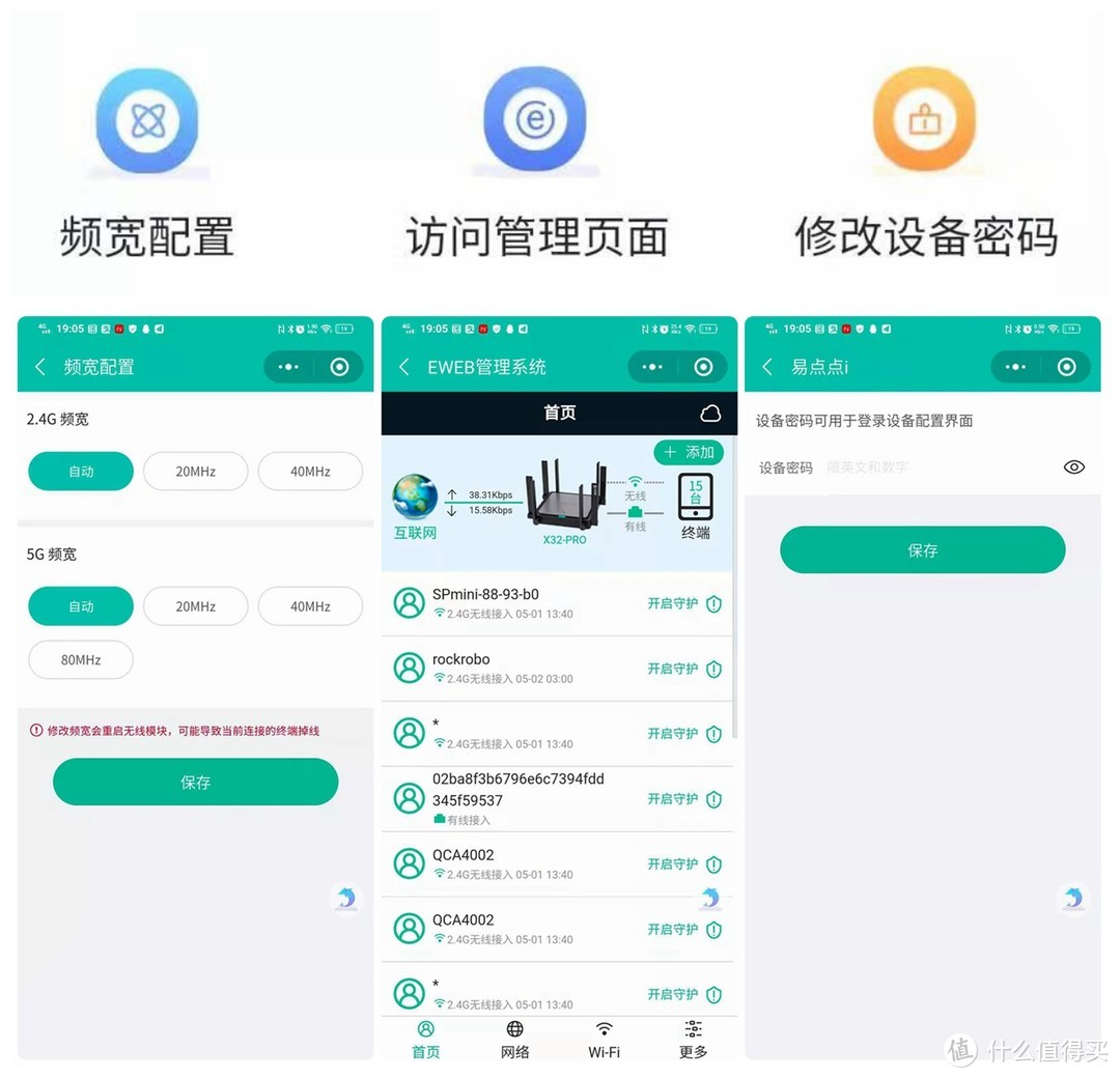 锐捷星耀X32 PRO Wi-Fi6路由器