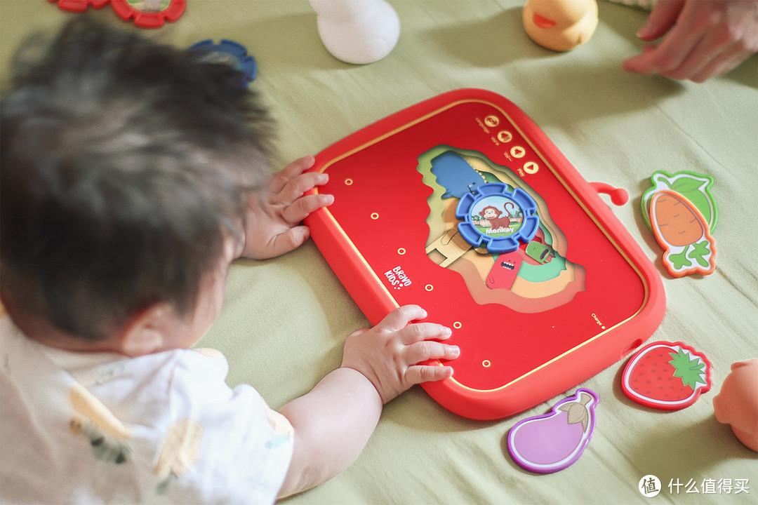 这个早教平板不用屏幕!Bravokids儿童双语启蒙派早教机体验