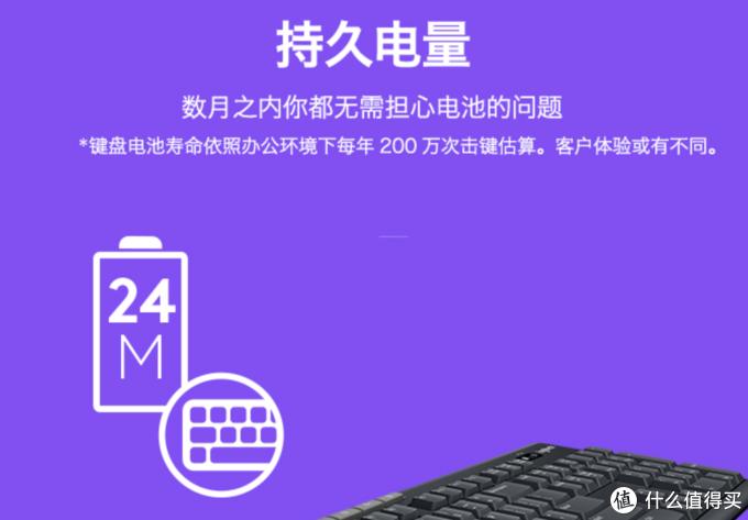 优联技术,罗技K270体验分享:百元无线薄膜键盘好用吗?