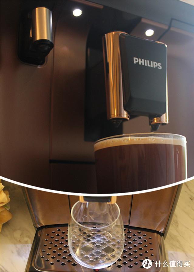 philips咖啡机亮灯示意