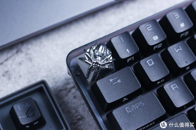 我的键盘上养了只蜘蛛~ZOMO蜘蛛键帽体验